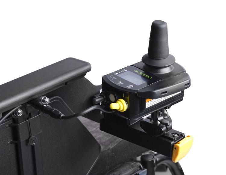 Mynd Decon E-drive Plus hjálparmótor með stýripinna